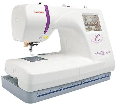 Janome Memory Craft 350E - Интернет магазин «Шпулька»