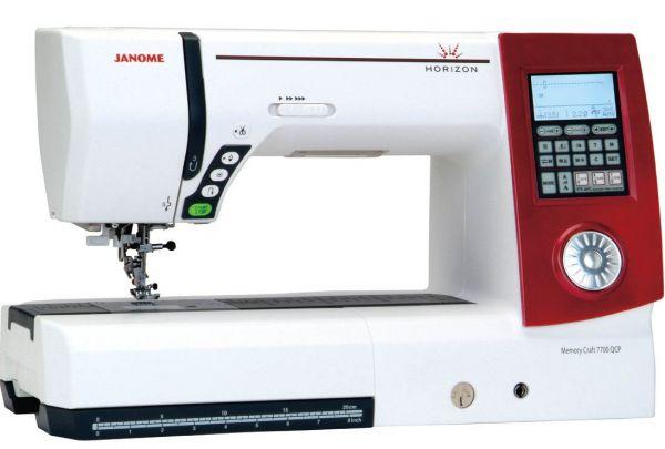 Janome Horizon Memory Craft 7700 qcp - Интернет магазин «Шпулька»